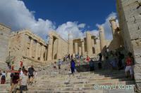 パルテノン神殿とニャンコ① - ねこ旅また旅