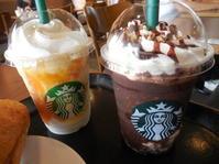 スターバックスコーヒーの季節のビバレッジでランチしました - ラベンダー色のカフェ time