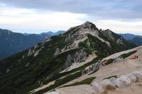 燕岳(6) 再び山頂へ (撮影日:2017/8/28) - toshiさんのお気楽ブログ