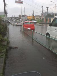 昨日の雨、予想以上にやばかった新座 - RÖUTE・G DRIVE AFTER DEATH