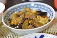 茄子と豚ヒレ炒め - おいしい日記