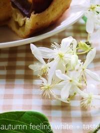 秋がはじまる日の花と味覚 - serendipity blog