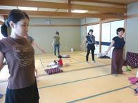 8月24日 骨盤ケア体操教室を開催しました - 子育てサークル たんぽぽの会
