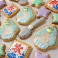 ◆プリキュアアラモード☆ペンギンかき氷のアイシングクッキー - まんなのお菓子工房