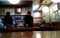 白い更科が寄り添う江戸前天丼。お昼の一瞬でも蕎麦屋を満喫。更科丸屋 @茅場町 - はじまりはいつも蕎麦