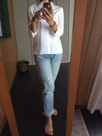 白シャツにデニム - めいの日々是好日
