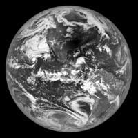 月周回衛星ルナー・リコネサンス・オービターが捉えた地球の映る月の影 - 秘密の世界        [The Secret World]
