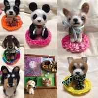 第5回Pug Cafeは愛犬そっくり羊毛フェルト作り - はばたけ MY SOUL