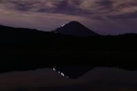 29年8月の富士(13)西湖の富士 - 富士への散歩道 ~撮影記~