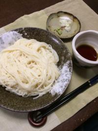 ひやむぎ - 庶民のショボい食卓
