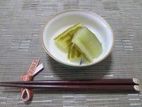 夏の終わりに・・・きゅうりの冬瓜風煮物 - candy&sarry&・・・2