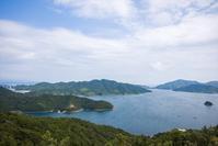 淡路島・徳島旅行 四方見(よもみ)展望台 - 尾張名所図会を巡る