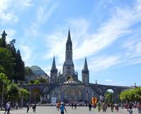 ルルド  2  ロザリオ聖堂とバジリカ聖堂 - FK's Blog