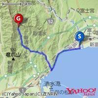 9/3(日) 2年ぶり興津川 70km 涼しかった! - 山to バイクto Qoo の楽園