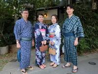 9月、気持ちよく浴衣でお出かけ。 - 京都嵐山 着物レンタル&着付け「遊月」