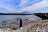 かもめと海と利尻富士 - 礼文島★ハナとわたし