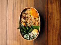 9/4(月)鰻と高菜の混ぜご飯弁当 - おひとりさまの食卓plus