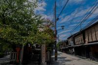 夏の祇園白川 - 鏡花水月