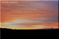 支笏湖カルデラの夕焼け - 北海道photo一撮り旅