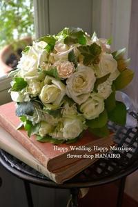 bridal bouquet♪ - 花色~あなたの好きなお花屋さんになりたい~