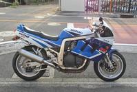 M本サン号 GSX-R1100(GV73A/M型)の車検取得とマフラー交換!(^^♪ - バイクパーツ買取・販売&バイクバッテリーのフロントロウ!