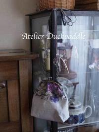 ご注文のバッグが出来ました - 手作りな暮らし Atelier Duck Paddle