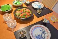 マリネ鶏のトマト鍋 - まほろば食日記