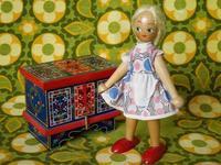 ポーランドの木製人形 8 -  Der Liebling ~蚤の市フリークの雑貨手帖2冊目~