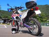 CRF250L自作トリコロールカラー製作秘話 - 風とバイクと俺と。