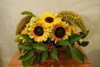 8月のレッスンのご報告。 - 花と暮らす店 木花 Mocca