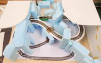 ミニレイアウト(2)~ 少し進みました - 【趣味なんだってば】 鉄道模型とジオラマの製作日記