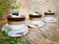 3層のコーヒーゼリー♪ - This is delicious !!
