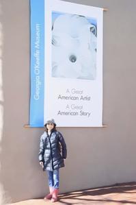 Santa Fe:ジョージアオキーフ美術館 - 転々娘の「世界中を旅するぞ~!」