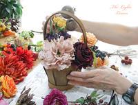 ワンデイレッスン/お見舞いの花をアーティフィシャルフラワーで - アーティフィシャルフラワー THE LIGHTS