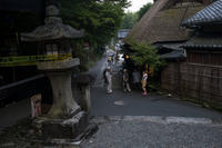 嵯峨鳥居本旧街道の灯篭祭(その1) - 写真の散歩道