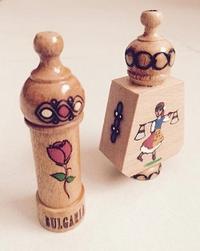ブルガリアからバラの香水とキノコ型シェイカー - 眠れる島の小さな住人達