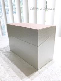 本体と蓋が斜めの箱 - Boîte à Bijoux