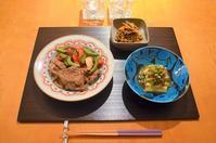 忙しかった日の夕食 - まほろば日記