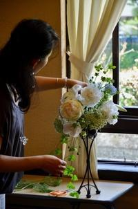 "New!""花""ある暮らし 「亮子さんのフラワー」土曜10:30-12:30 - Bouquets_ryoko"
