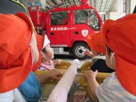【南品川園】消防車に乗ったよ! - ルーチェ保育園ブログ  ● ルーチェのこと ●