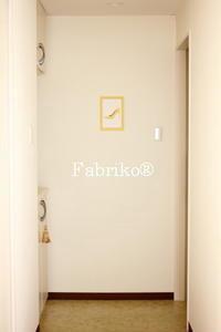 ウォールアート第2弾 - Fabrikoのカルトナージュ ~神戸のアトリエ~