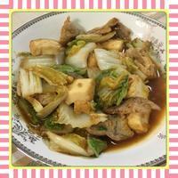 豚肉・白菜・厚揚げのピリ辛味噌炒め(レシピ付) - kajuの■今日のお料理・簡単レシピ■
