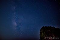 夏のおわり2017:3:My First Milky Way - walk with my Camera