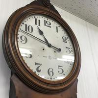 精工舎 大型掛け時計修理(十六寸木地五尺) - トライフル・西荻窪・時計修理とアンティーク時計の店