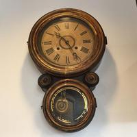 INGRAHAM イングラハム 掛け時計メンテナンス - トライフル・西荻窪・時計修理とアンティーク時計の店