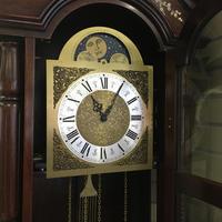 大型置き時計 ホールクロックの修理 - トライフル・西荻窪・時計修理とアンティーク時計の店