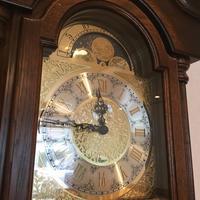 URGOS ウルゴス ホールクロックの修理 - トライフル・西荻窪・時計修理とアンティーク時計の店