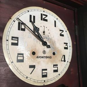 AICHI TOKEI アイチ時計 大型掛け時計の修理 - トライフル・西荻窪・時計修理とアンティーク時計の店