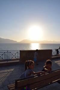 念願の初対面!!@5歳10ヶ月夏のシチリア - ボローニャとシチリアのあいだで2