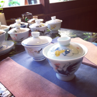 *2017/9/8〜 - salon de thé okashinaohana 可笑的花